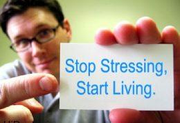 گذراندن عمر با استرس چگونه است؟