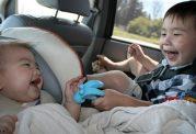 بردن بچه به تعطیلات با ماشین