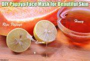 ماسک پاپایا برای زیبایی پوست صورت