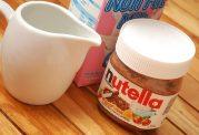 شیوه درست کردن شیر نوتلا