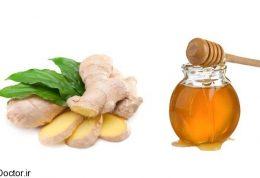 رفع آلرژی و حساسیت با زنجبیل و عسل