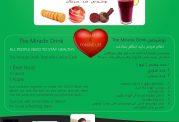 نوشیدنی ضد سرطان - ترکیب سه میوه