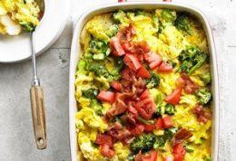با سیب زمینی و پنیر و تخم مرغ غذای متفاوت درست کنید