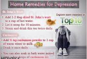داروهای خانگی برای مبارزه با افسردگی و غم