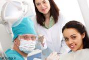 با دندانپزشک برای رفع آفت دهان