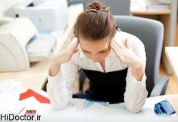 آمار بالای استرس از لحاظ شغلی در این کشور