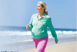 ورزش مادر مساوی با سلامت جنین