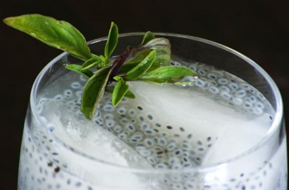 تخم شربتی یک نوشیدنی لذت بخش و دارویی گیاهی