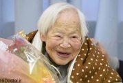 زنانی با عمر طولانی با سلامت کامل