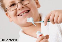 انواع خمیر دندان و کودک