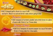 داروهای خانگی برای انسداد رگهای خونی