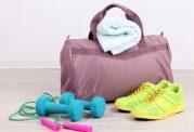 وسایل ورزشی لازم در کیف باشگاه