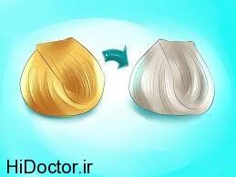 شیوه آرایش متفاوت برای موهای بلوند