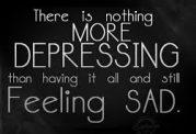 تلقین احساس افسردگی