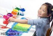 ابراز احساسات کودکان با نقاشی هایشان