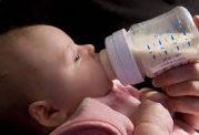 منع مصرف شیرگاو برای نوزادان