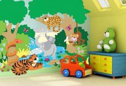 روانشناسی رنگ در اتاق بچه