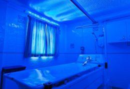 رنگ های ملایم در حمام