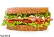 چگونه می شود یک ساندویچ را سالم درست کرد؟