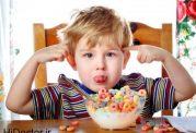 اهمیت کم نمک بودن غذای بچه
