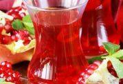 شیوه درست کردن چای پوست انار