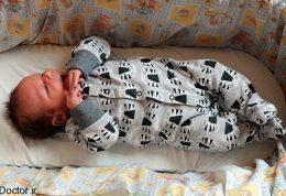 به دنیا آمدن نوزاد با وزنی خارق العاده