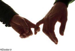 روانشناسی انگشتان مردان
