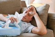ادا و اطوارهای مردان هنگام مریض شدن