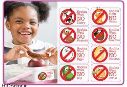 نوع تغذیه آلرژی زا در اطفال