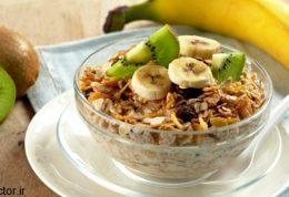کنترل قندخون با صبحانه پرانرژی وشام کم انرژی