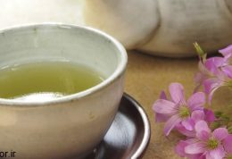با چای سبزپوستی صاف و موهایی براق داشته باشید