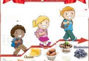 10 غذای عالی برای رشد کودکان