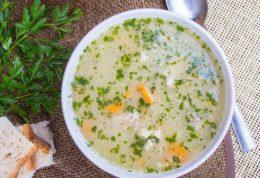 سوپ جو و سبزیجات برای تقویت قلب
