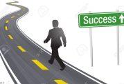 افتادن در مسیر جاده موفقیت