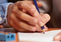 فرق دست نویسی و تایپ در اطفال