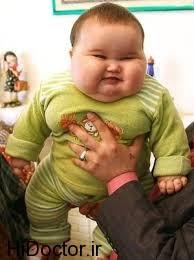 درمان چاقی اطفال بدون رژیم لاغری