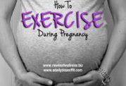 چگونگی پرداختن به ورزش در حاملگی