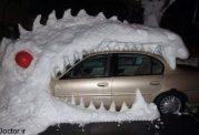 برف بازی سرگرمی های مردم این کشور