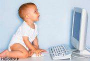 نکاتی در مورد وابستگی اطفال به اینترنت