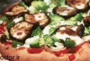 پیتزای سبوس دار