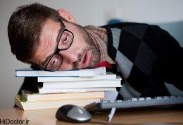بررسی دلایل احساس خواب آلودگی در محل کار