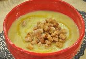 سوپ تره فرنگی و زنجبیل