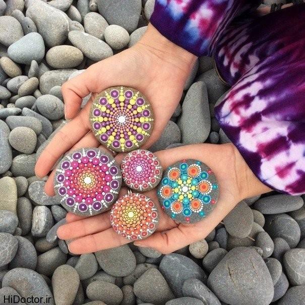 جالب ترین خلاقیت ها با سنگ