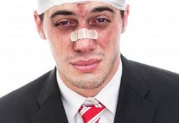 پیامدهای وارد شدن آسیب به سر و صورت