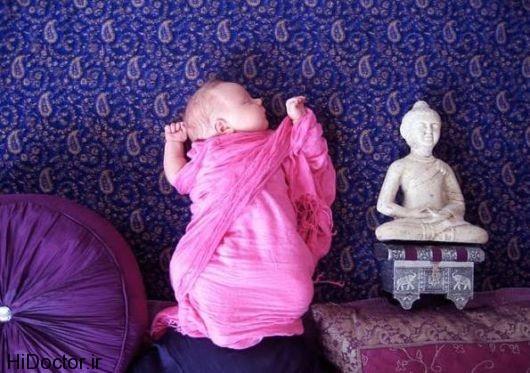 عکس های خارق العاده هنری از نوزاد