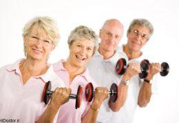 کاهش خطرات و بیماری های دوران سالمندی