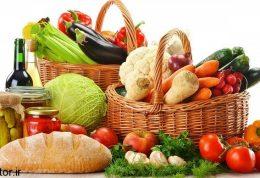 کمتر و سالم تر غذا بخورید