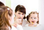 اهمیت ترغیب کودک به مسواک کردن دندان ها