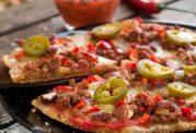 فقط با 200 کالری پیتزا درست کنید