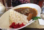 ابتکار جالب در بشقاب غذا با برنج